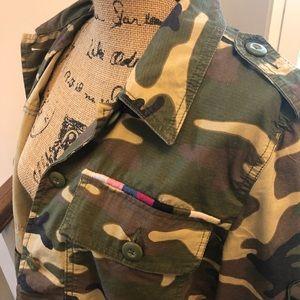 gap limited edition camo jacket